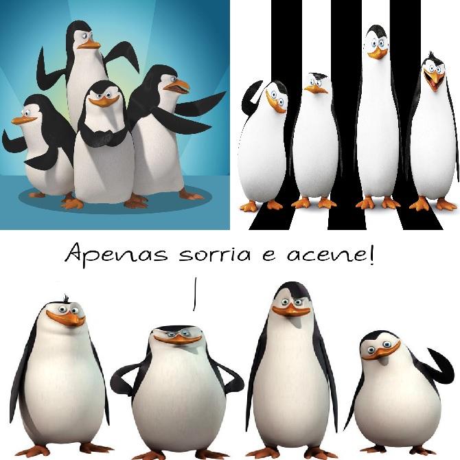 Pinguins de Madagascar