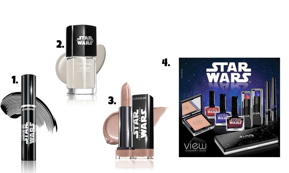 maquiagem star wars