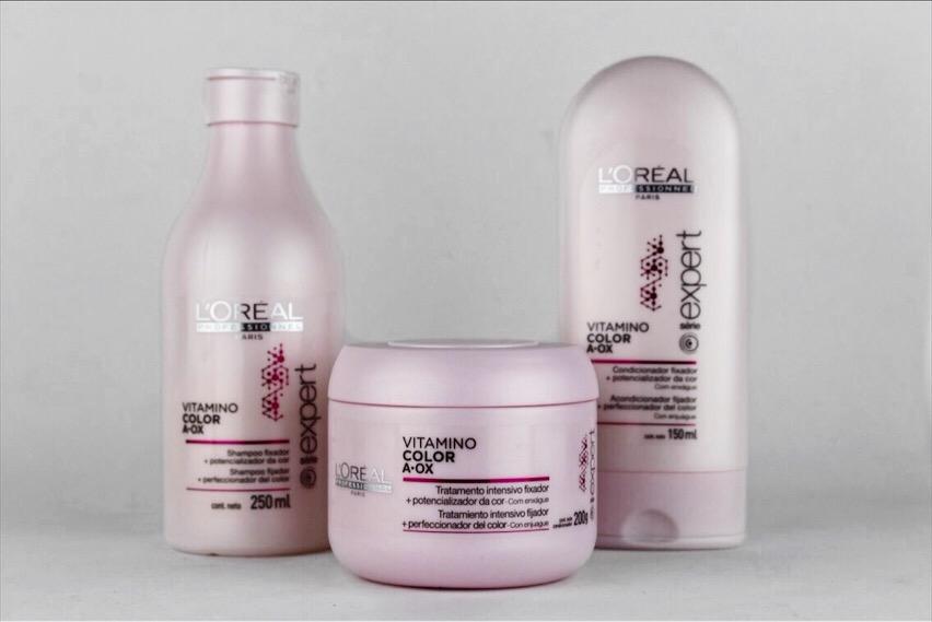 476c961ed Loreal Professionnel Vitamino Color A-OX – Shampoo, condicionador e máscara