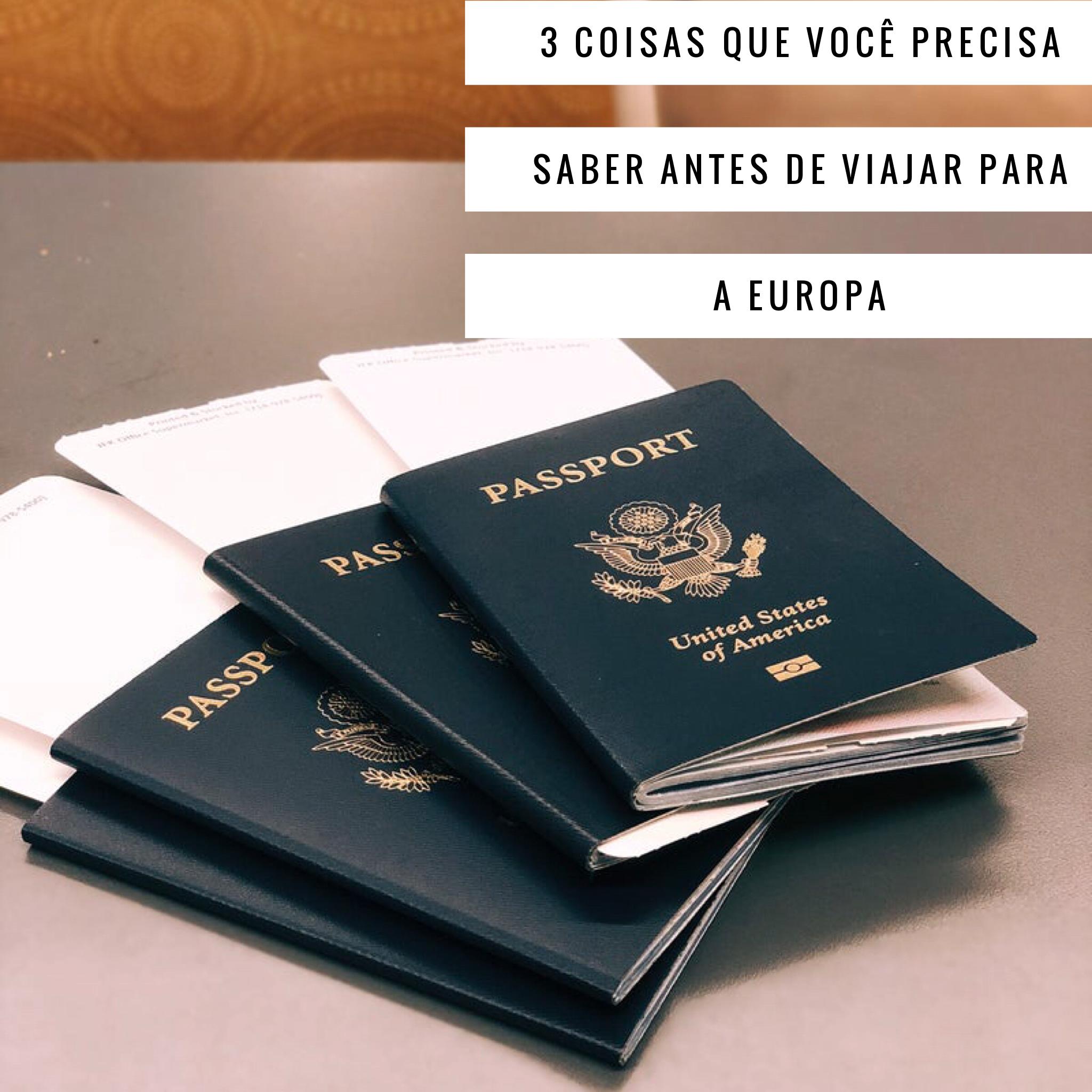 Coisas Que Precisa De Saber Antes De Visitar Portugal: Passaporte